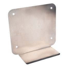 Rotaid metal stand